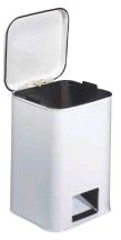 Brewer Medical White 20-Quart Hospital Waste Can