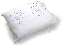 Sound Oasis Sleep Therapy Pillow Noise Machine
