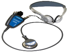 Cardionics E-Scope Electronic Headset Stethoscope