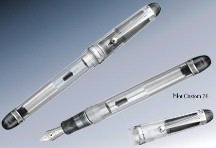 Namiki Pilot Custom 74 Clear Transparent Fountain Pen