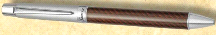 Namiki Pilot Stanza Brown Carbon Fiber Ball Point Pen