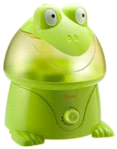 Crane Frog Cool Mist Child's Nursery Humidifier