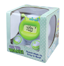 Mirari OK To Wake Kids Alarm Clock & Nightlight