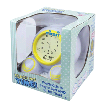 Mirari Teach Me Time Kids Alarm Clock & Nightlight