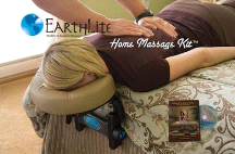 EarthLite Home Massage Kit w/ Facecradle and DVD