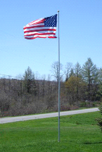 20' Tele-Pole High Strength Aluminum Telescoping Superior 1 Flagpole