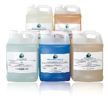 OmegaClean 1 Gallon Industrial Ultrasonic Cleaning Agent Soap Solvent Solution