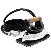 Reliable 2100IR Professional Iron With Steam Hose and Iron Rest