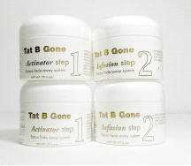 Tat B Gone Tattoo Removal System 2 Month Supply