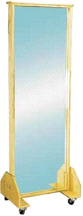 Armedica AM-686 Maple Plywood Mobile Posture Mirror