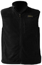 Volt Heat COHO 7v Black Fleece Heated Vest w/ Temperature Control
