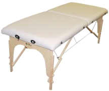Custom Craftworks Athena Lite Portable Masseuse Massage Table
