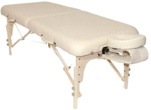 Custom Craftworks Heritage Portable Masseuse Massage Table