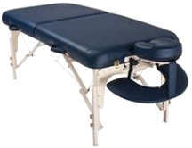 Custom Craftworks Luxor Portable Masseuse Massage Table