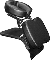 Custom Craftworks Sidekick Portable Masseuse Massage Table Head Support