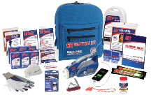 Quake Kare 2 Person Ultimate Deluxe Backpack Survival Kit