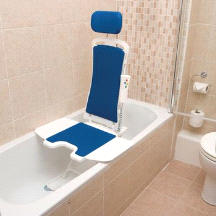 Bellavita Drive Reclining Remote Controlled Auto Bath Chair Lift Seat