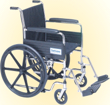 Tuffcare Folding Venture Hemi Light Lightweight Low Seat Wheel Chair