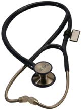 MDF 797DD11T ER Premier Black Adult and Pediatric Stethoscope