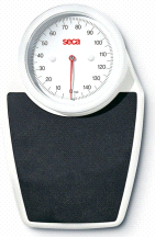 Seca 762 Mechanical Personal Scale with Fine kg, and lbs Graduation