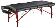 "Master Massage 31"" Montclair Pro Therma-Top LX Portable Massage Table"
