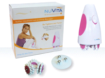 NuVita HBM1001 Handheld Face and Body Massager Roller