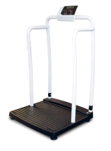 Rice Lake 250-10-2 Bariatric Handrail Digital Physician's Weigh Scale