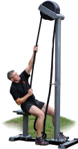 Ropeflex RX5500 Outdoor Rope Pulling Resistance Machine