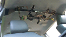 Great Day Center Lok Overhead Archer Bow Rack for Pick-up Trucks