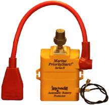 PriorityStart Marine Boat Watercraft 12V Battery Vehicle Start Protector