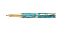 Cross Sauvage Zodiac Year of The Monkey Tibetan Teal Rolling Ball Pen