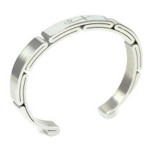Shuzi Vitality Men's Stainless Steel Sport Cuff Fashion Bracelet