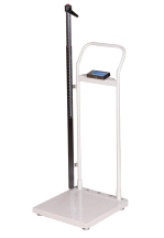 Salter Brecknell HS-300 Physicians Standing Height And Weight Scale