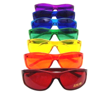 Color Therapy Pro Chakra Complete Set Of 7 Glasses