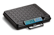 Salter Brecknell GP100 Portable Digital General Purpose Bench Scale 100lb