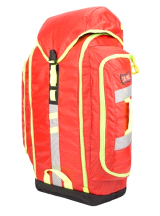 StatPacks G3 BackUp Urban EMT Medic Backpack EMS ALS Trauma Bag Red Stat Packs