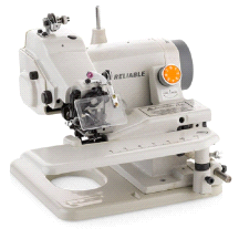 Reliable Maestro 600SB Portable Blindstitch Sewing Machine with Skip Stitch