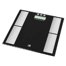 Kalorik EBS 40398 BK Black Electronic Body Fat Scale