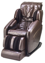 Inner Balance Wellness Jin L-Track Zero Gravity Espresso Massage Chair