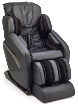 Inner Balance Wellness Jin BLACK L-Track Zero Gravity Massage Chair