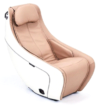 Synca SL Track Heat Therapy BEIGE Compact Massage Chair