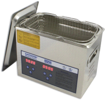 Mettler 3 Liter Adjustable Heater Cavitator Digital Ultrasonic Cleaner