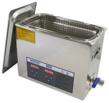 Mettler 6 Liter Adjustable Heater Cavitator Digital Ultrasonic Cleaner