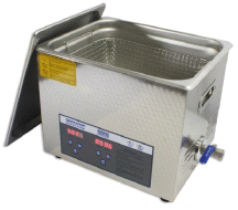 Mettler 10 Liter Adjustable Heater Cavitator Digital Ultrasonic Cleaner