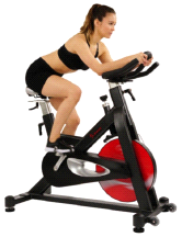 Sunny SF-B1714 Evolution Pro Magnetic Belt Drive Indoor Cycling Bike