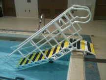 AquaTrek AQ-8000 NON ADA 8 Tread Pool Step System