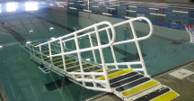 AquaTrek AQ-9000L Pool Ramp Elevation Kit Long Platform System