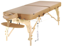 "Master Massage 30"" Phoenix Therma-Top Portable Massage Table"