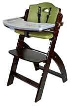 Abiie Mahogany Olive Beyond Junior Y High Chair