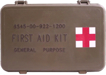 Elite First Aid FA101 General Purpose Military Issue Case Aid Kit